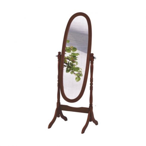 TÜKÖR diófa álló tükör - Bónuszbútor webáruház