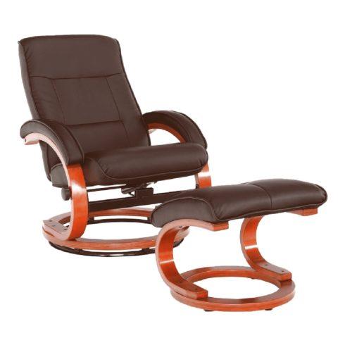 RYAN sötétbarna pihenő fotel - Bónuszbútor webáruház